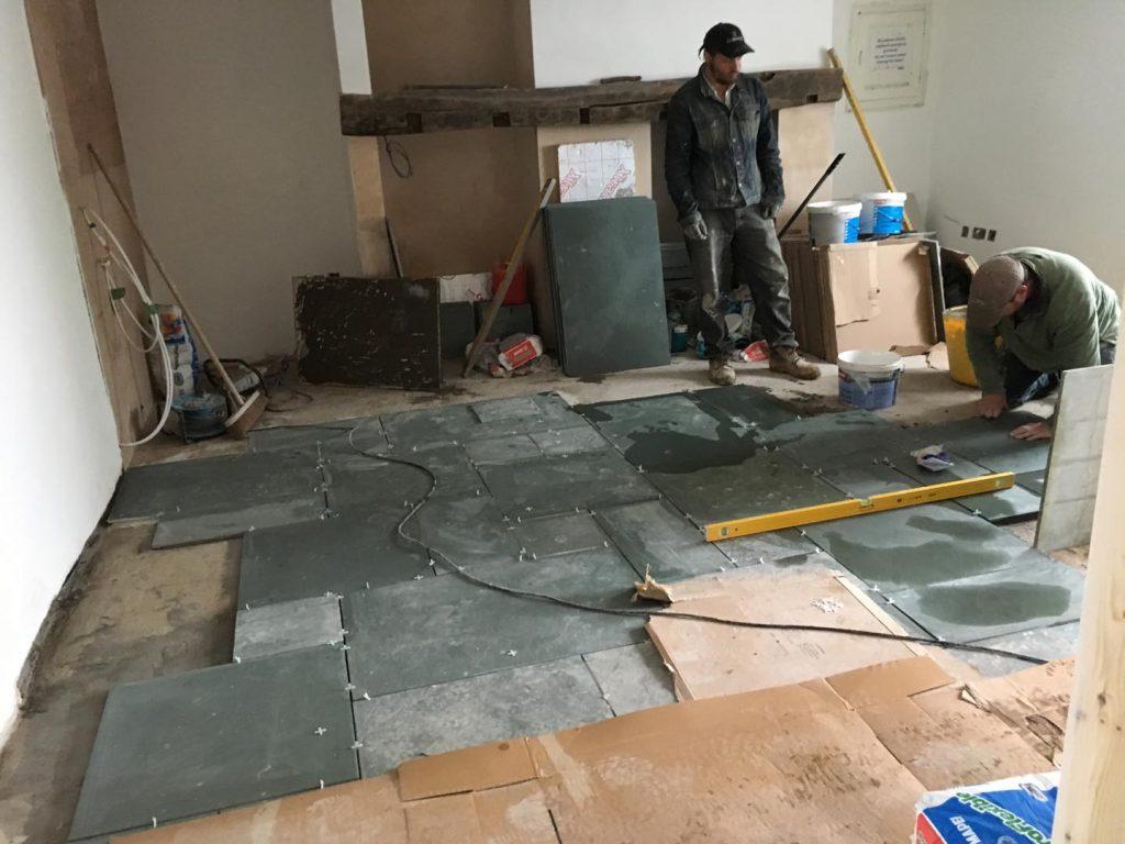 Rose Cottage Portinscale - Sitting Room flooring