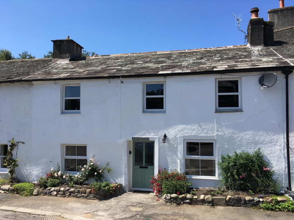 Rose Cottage Exterior - After