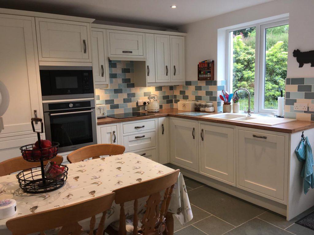 Rose cottage kitchen after